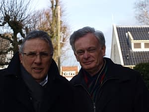 Dhr. D. Roele en Dhr. J.W. Meijer