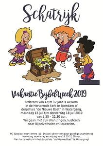 VakantieBijbelWeek 2019 Schatrijk